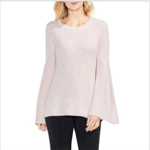 VINCE CAMUTO All Over Bell Sleeve Sweater Size XL